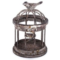 Small Iron Bird Cage with Bird on Top | Shop Hobby Lobby