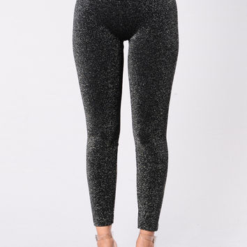 Lil Sunshine Leggings - Black