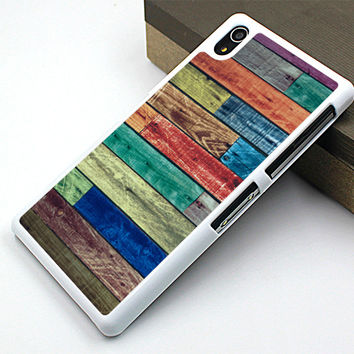 retro style sony Z case,old wood grain sony Z1 case,new design sony Z2 case,art sony Z3 case,fashion sony Z3 case,personalized sony case,wood grain image gift sony case