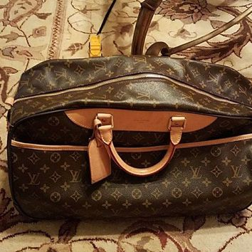 ONETOW Louis Vuitton EOLE 60 Duffle Bag - Brown