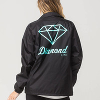 DIAMOND SUPPLY CO. Logo Womens Coach Jacket | Jackets