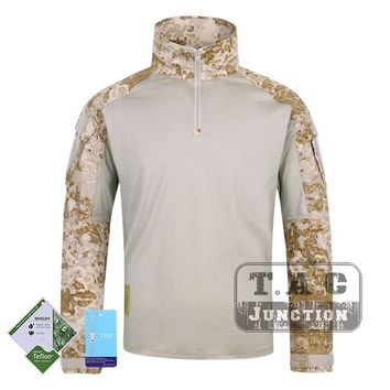 Tactical Emerson BDU G3 Combat Shirts Emersongear CP Style Battlefield Tops Assault Uniform Body Armor Apparel Sandstorm  SS