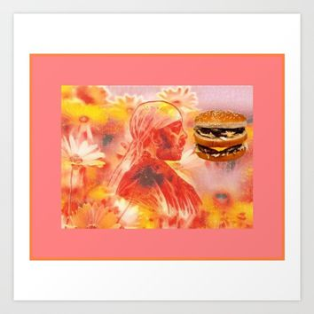 dreamburger Art Print by Kathead Tarot/David Rivera