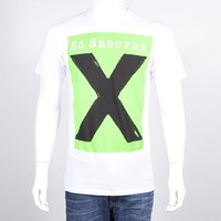 Ed Sheeran Webstore - Album X Tour Slim Fit T-Shirt
