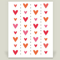 Heart Crazy Art Print by CynthiaKatz on BoomBoomPrints
