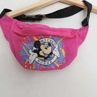 Vintage Mickey Mouse Disney Fanny Pack