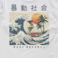 RIOT SOCIETY Wave Rider Mens T-Shirt