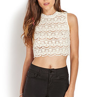 Dainty Crocheted Crop Top