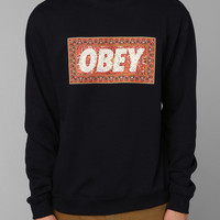 OBEY Magic Carpet Pullover Sweatshirt