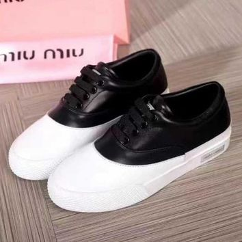 Miumiu Women Casual Sneakers Sport Shoes-3