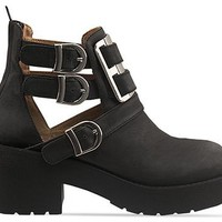 Jeffrey Campbell Clarkson in Black Washed Silver at Solestruck.com