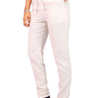 Starch Linen Trousers | Pants at Pinkice.com
