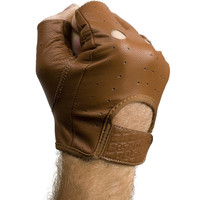 Aitken Hellbent Gloves Fingerless (Brown)