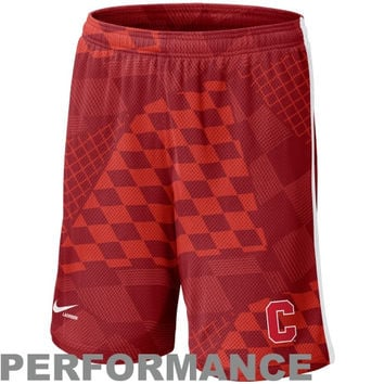 Nike Cornell Big Red Lacrosse Digi Training Short 1.3 - Carnelian