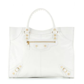 balenciaga - giant monday leather tote