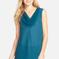Women's Pleione Cowl Neck Sleeveless Top ,