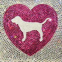 PINK Hearts Bling