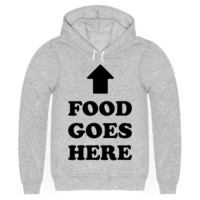 FOOD GOES HERE