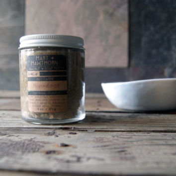 S.WC Homestead: Walnut and Cornmeal Whipped Soap Putty Nectarine Scented