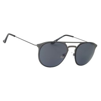 NWT Retro Aviator Sunglasses Classic Spiller Round Smoke Lens Men Women Shades
