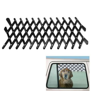 Expandable Car Window Gate Magic-Gate Dog Pet Fences Vent Window Ventilation Safe Guard Grill for Pet Accessories