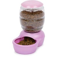 Petmate Pink Replendish Pet Auto-Feeding System