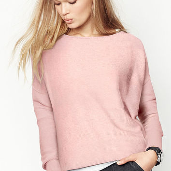 Boxy Dolman Sweater - A Kiss of Cashmere - Victoria's Secret