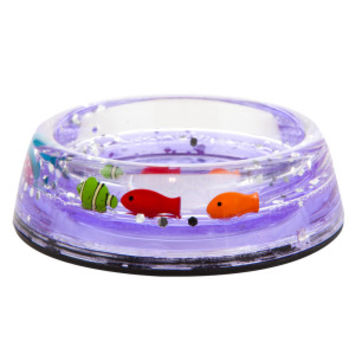 Whisker City® Floating Fish Cat Bowl