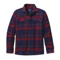 Patagonia Men's Long-Sleeved Fjord Flannel Shirt