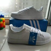 """""""Adidas"""" Fashion Casual Unisex Sneakers Plate Shoes """"STAN SMITH"""" Small White Shoes Couple Running Shoes"""