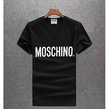 Boys & Men Moschino Fashion Casual Shirt Top Tee