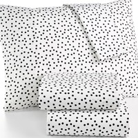 Martha Stewart Collection Whim Novelty Print 200 Thread Count Whim Printed Sheet Set