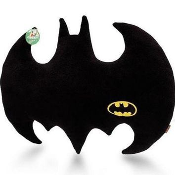 DCCKIX3 Throw Pillows Cloth Art Toy the Dark Knight Batman Logo Pillow Plush Cushion = 1927943556