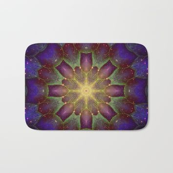 Night lights Bath Mat by Jeanette Rietz
