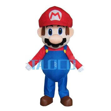 Super Mario party nes switch Hot Sale  Mascot Costume Fancy Dress XMAS Party Dress Adult AT_80_8