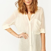Verona Blouse - Cream