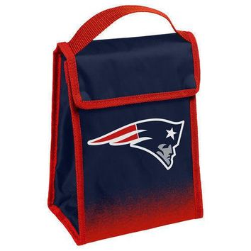 NFL New England Patriots Insulated Lunch Bag Cooler