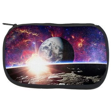 Explore The Infinity Of Space Makeup Bag