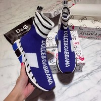 DOLCE & GABBANA Fashionable and casual socks and shoes