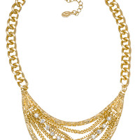 Linden Necklace Set in Gold