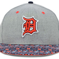 Detroit Tigers MLB Fair Isle Flip 9FIFTY Snapback Cap