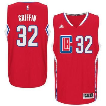 Men's La Clippers Chris Paul Adidas Black Replica Basketball Jersey