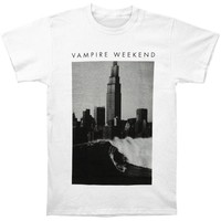 Vampire Weekend Men's  Surf City Slim Fit T-shirt White