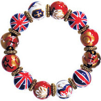 ANGELA MOORE Jewelry -  LONDON VIBE CLASSIC BRACELET W/ GOLD