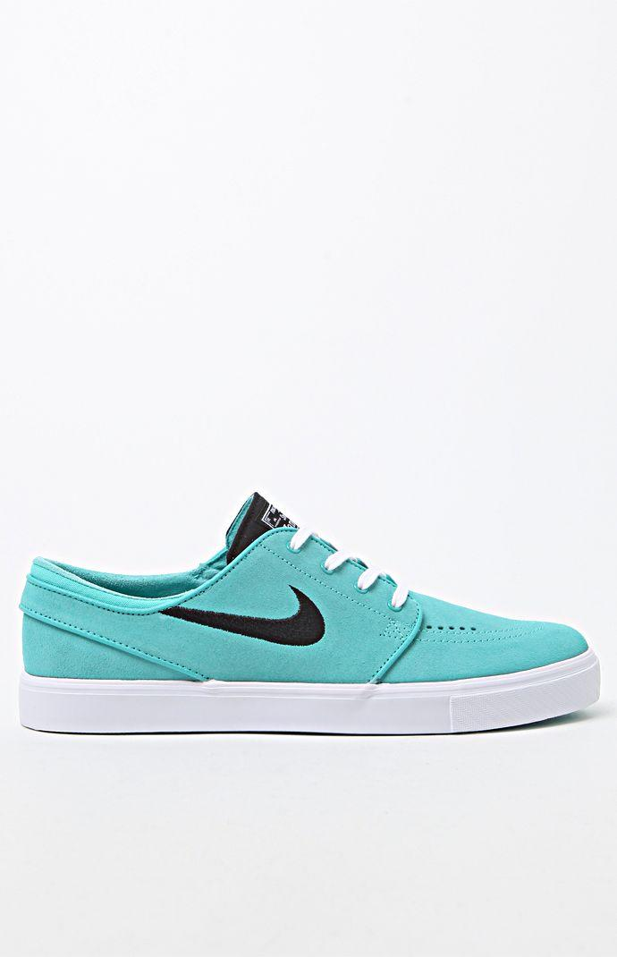 Nike SB Zoom Stefan Janoski Mint Green Shoes - Mens Shoes - Teal Black 1c19e7e95ead