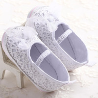 White Princess Mary Janes