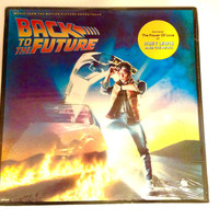Back To The Future Sealed Vinyl Record Marty McFly Alan Silvestri Sountrack