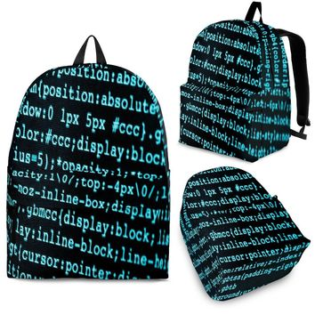 Computer Science Back To School College Backpack