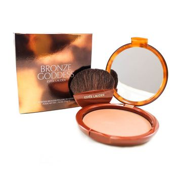 ESTÉE LAUDER BRONZE GODDESS powder bronzer #02-medium 21 gr: Amazon.es