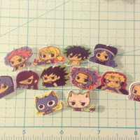 Kawaii Fairy Tail Charms